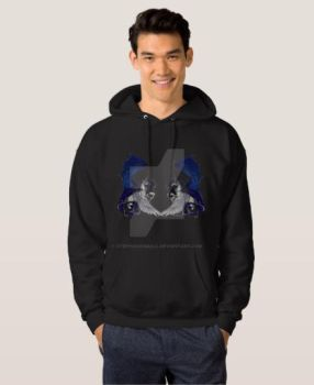 Black Unicorn and Dragon Hoodie Available to Buy by StephanieSmall
