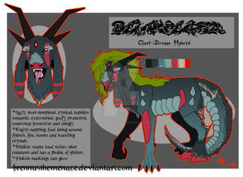 Belphegor Ref by BrennusTheMenace