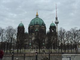 Berliner Dom by headstert
