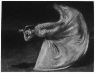 Martha Graham - compressed charcoal reproduction by i-be-spoomed