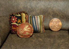 Mini Pillows - Mixed Trio by Kyle-Lefort
