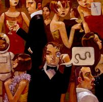 Serpentine Soiree by jasinski