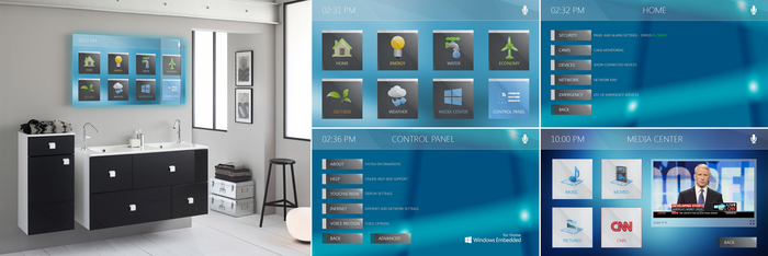 [Design] Windows Embedded for Home (Revised) by p0isonParadise