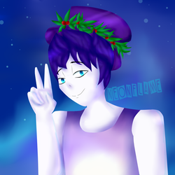 .:C.E:. NeonFlame (Lineless Ver) by ErinFlame