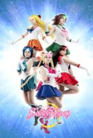 [Sailor moon cosplay] - Sailor Senshi by Alexial-kun