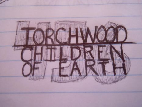 Torchwood: Children of Earth doodle by RohirricTimeLord