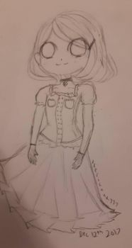 Simple sketch ._. by XxEricaxX777