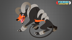 Pokedex Animated - Houndoom