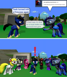 Ask True Blue tumblr 1906 by Out-Buck-Pony