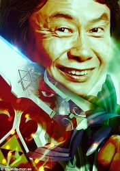 The Legend of Miyamoto | @Nintendo by De-monVarela