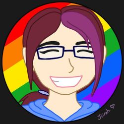 Pride Month icon - Jiirah by Dark-and-One-Other