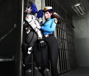 Talon Agent Detained by BlakKnight08