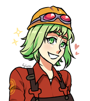 Gumi Engie by ReyCupcake