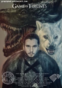 Jon Snow heir to the Iron Throne by Grapiqkad