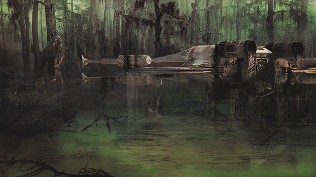 On Dagobah by Aste17