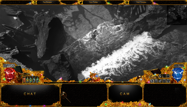 GOLD OF TREASURE  -  IN GAME OVERLAY by Arcaste