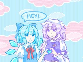 Cirno+Letty by Cloudy-S