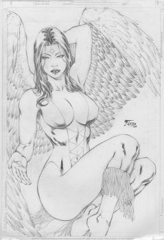Fred Benes Dawnstar by DeanSummers1