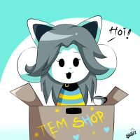 Temmie! by DestinyStarz