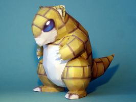 Sandshrew Papercraft Version 2
