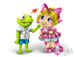 The Muppets Babies Cute Couple by LuizRaffaello