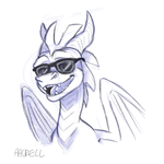 Sketch Bust Example 2018 by aacrell