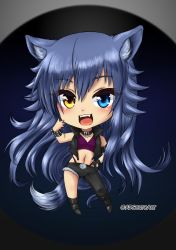 Fenrir Unchained Chibi by ADSouto