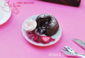 Chocolate Lava Cake - 1:12 by Jeyam-PClay