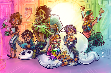 Bighero 6 by ito by petipoa
