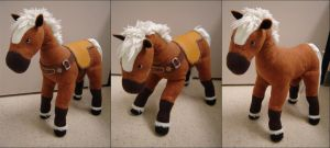 Epona Plush by Eightohsixtythird