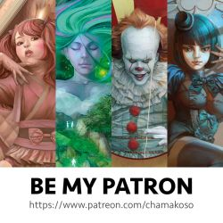 Be my Patreon! by chamakoso