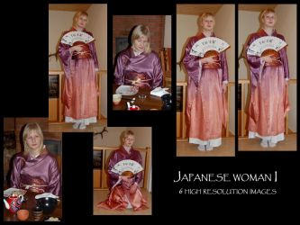 Japanese woman I by Mithgariel-stock
