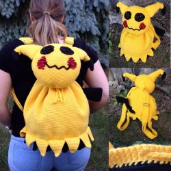 Mimikyu Backpack! by Vivacia18