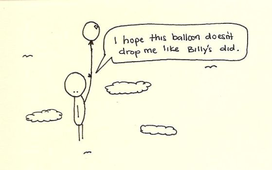 Billy's Balloon by hunsonisgroovy
