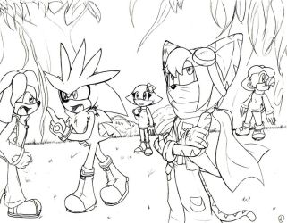 Disagreement.:lineart:. by SonicHearts
