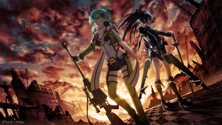 Commission - BRS vs Sinon by Meoon