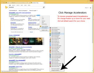 Search Provider For internet explorer context menu by MBOSSG