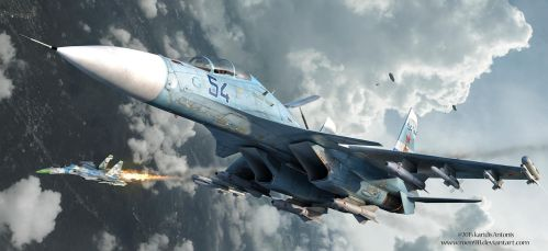 Skirmish Over Ukraine by rOEN911