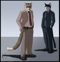 Commish - CATS Agents by WyldeElyn