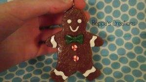 Gingerbread Ornament by BeppasCreations