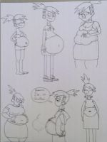 Frankie Foster WG Doodles by TheFranksterChannel