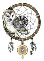 Owl Dream Catcher by LoveFromSam