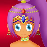 Shantae's Headshot with Jewlery by ThanyTony