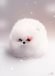 Valentine Fluffball by SandraWinther