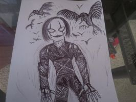 The Crow/Eric Draven by FloppsyProduction