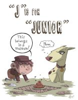 J Is For Junior by OtisFrampton