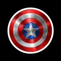 Marvel - Captain America Shield by sketchygerry