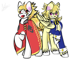 Prince Lionel and Echo by Bubbles906