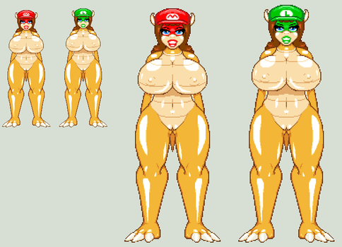 Bowser's New Bitches by CaseterMK