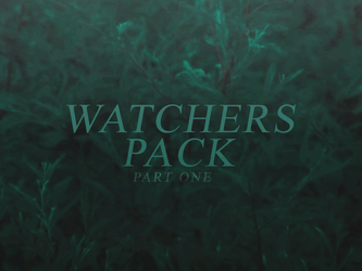 500 Watchers Pack | Part One by SugarRush19
